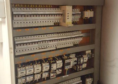 Opknapwerk 400V Distributie